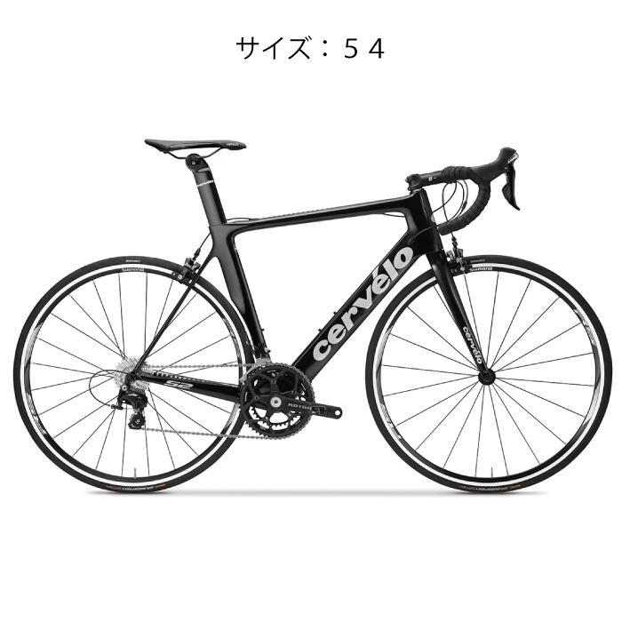 Cervelo (サーベロ) S2 105-5800 ブラック/シルバー サイズ54(176.5-181.5cm) 完成車 【自転車】