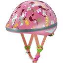 OGK (オージーケー) ピーチキッズ リーフピンク 47-51cm キッズヘルメット 【自転車】