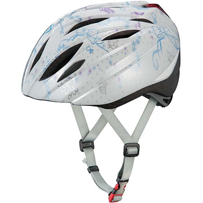 OGK (オージーケー) ブライト-J1 ティアラホワイト 55-57cm ジュニアヘルメット 【自転車】