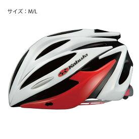OGK (オージーケー) ALFE アルフェ ホワイトレッド M/L 【自転車】
