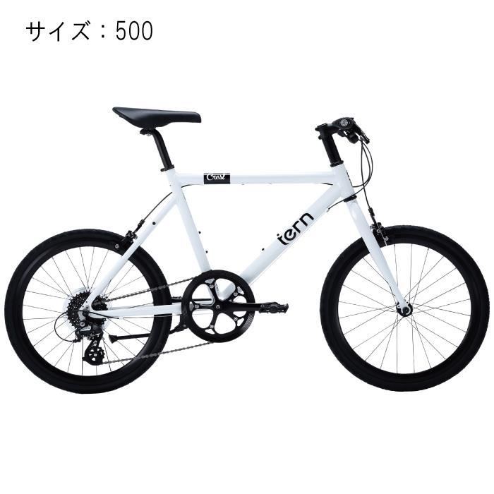 TERN (ターン) 2017モデル Crest クレスト ホワイト サイズ500 完成車 【自転車】