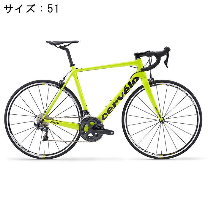 Cervelo (サーベロ) 2018モデル R3 R8000 フルオイエロー/ブラック サイズ51(170-175cm) ロードバイク