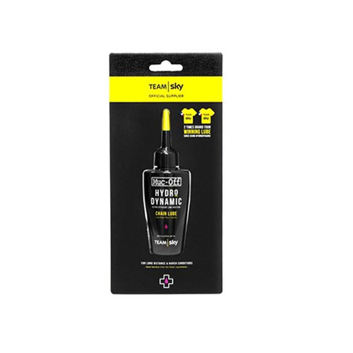 Muc-Off (マックオフ) TEAMSKY HYDRODYNAMIC LUBE Yellow Jersey Edition 50ml 【自転車】