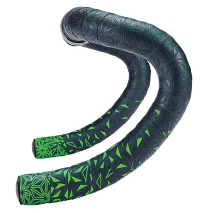 supacaz (スパカズ) KUSH Starfade ネオングリーン バーテープ