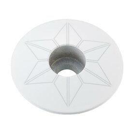 supacaz (スパカズ) STAR CAPZ powder coated White ヘッドキャップ