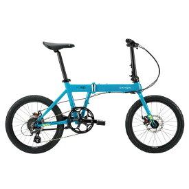 DAHON (ダホン) 2019モデル Horize Disc マリンブルー 折りたたみ自転車