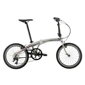 DAHON (ダホン) 2019モデル Mu D9 クイックシルバー 折りたたみ自転車