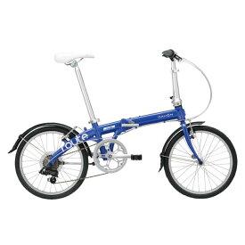 DAHON (ダホン) 2019モデル Route コバルトブルー 折りたたみ自転車