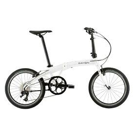 DAHON (ダホン) 2019モデル Mu D9 アイスホワイト 折りたたみ自転車