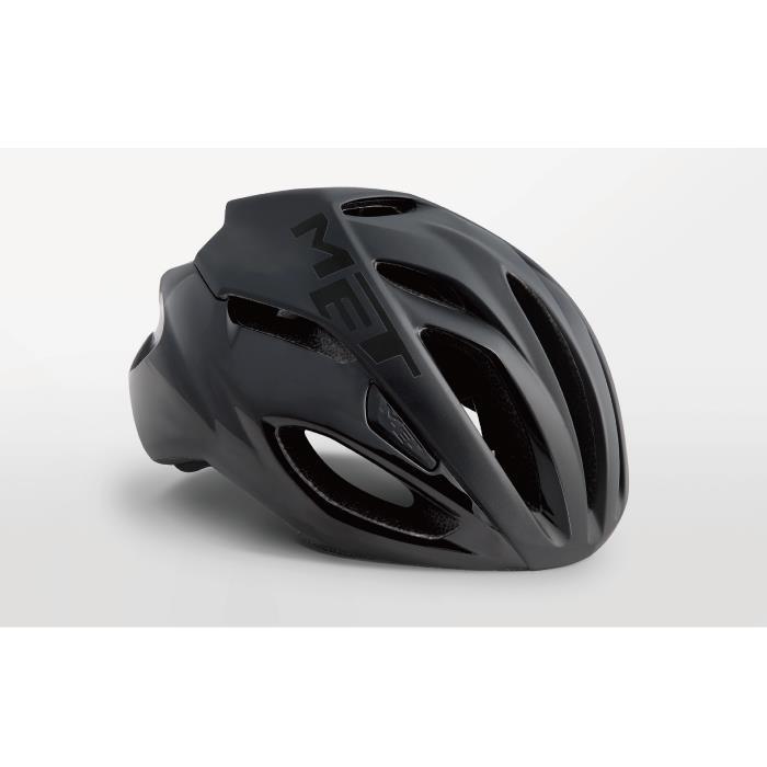 MET(メット) RIVALE HES リヴァーレ ブラック サイズM(54/58cm) ヘルメット