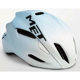 MET(メット) MANTA HES マンタ ホワイト/ライトブルー サイズL(59/62cm) ヘルメット