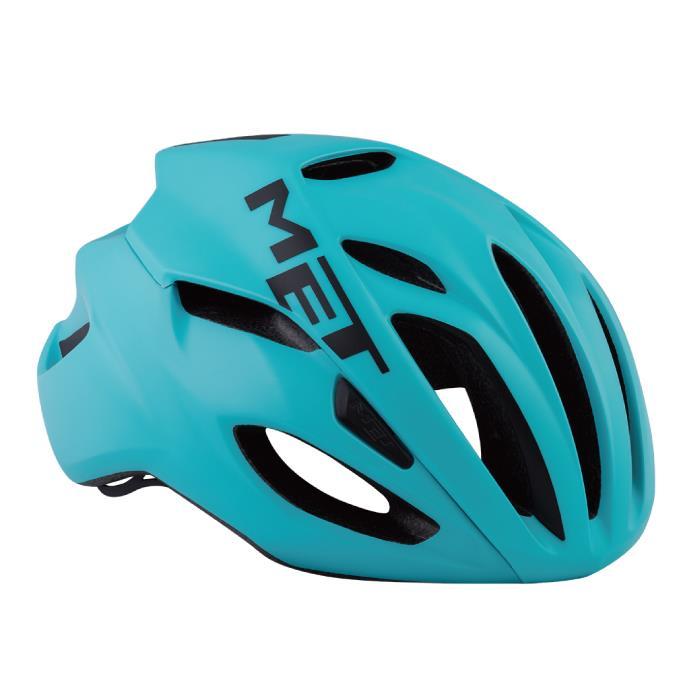 MET(メット) RIVALE HES リヴァーレ マイアミグリーン サイズS(52/56cm) ヘルメット