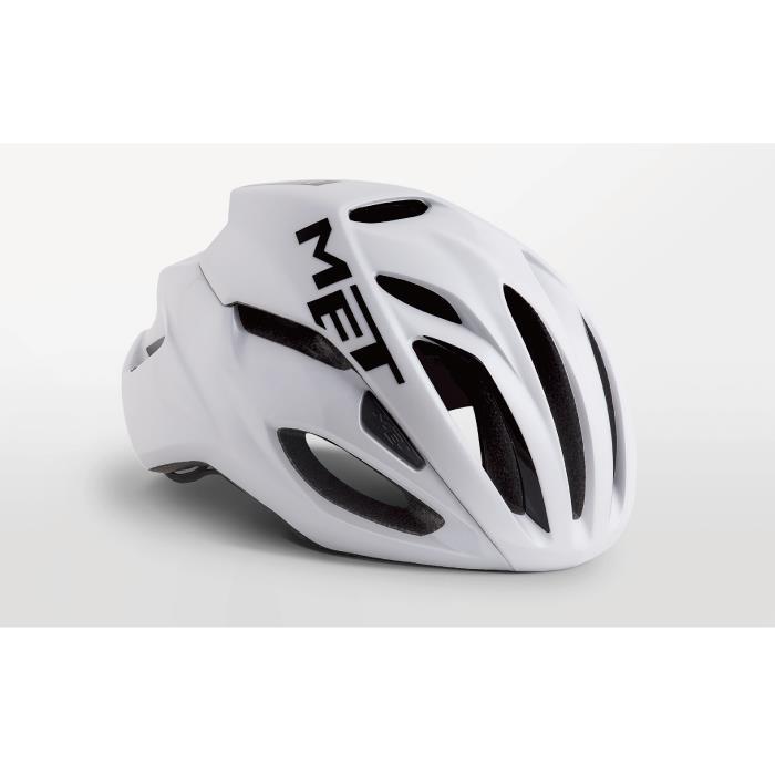 MET(メット) RIVALE HES リヴァーレ ホワイト サイズL(59/62cm) ヘルメット