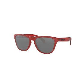 OAKLEY (オークリー) FROGSKINS XS Mat Red/Translucent Red/Prizm Black アイウェア