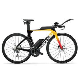 Cervelo (サーベロ) 2020モデル Pシリーズ DISC R8000 ライトオレンジ サイズ56(180-185cm) ロードバイク