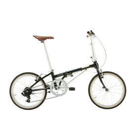 DAHON (ダホン) 2020モデル Boardwalk D7 ボードウォーク ナイトブラック (142-193cm) 折畳自転車
