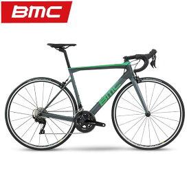 BMC (ビーエムシー) 2020モデル SLR02 THREE R7000 レースグレー/グリーン サイズ47(167-172cm)ロードバイク