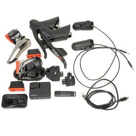 【中古】SRAM (スラム)RED Red eTap レッド eタップ 4点SET(レバー、FD、RD、TTスイッチ、バッテリーチャージャー)コンポーネントセット