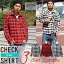 シャツ メンズ ブロックチェック コットンシャツ メンズシャツ 長袖シャツ リアルコンテンツ REALCONTENTS アメカジ ストリート系 ファッション
