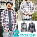 シャツ メンズ チェック コットンシャツ メンズシャツ 長袖シャツ リアルコンテンツ アメカジ ストリート系 ファッション