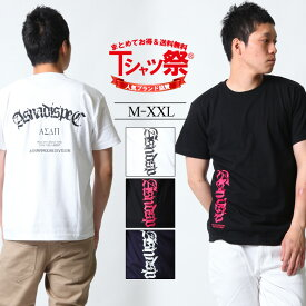 ASNADISPEC Tシャツ メンズ 半袖 ティーシャツ TEE アスナディスペック アスナ プリント 大きいサイズ B系 ブランド 人気 アメカジ ストリート おしゃれ かっこいい /3045/ asst2221