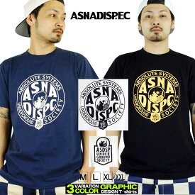 ASNADISPEC Tシャツ メンズ 半袖 ティーシャツ TEE アスナディスペック アスナ ミリタリー プリント 大きいサイズ B系 ブランド 人気 アメカジ ストリート おしゃれ かっこいい /3045/ asst5163