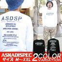 ロンT メンズ 長袖 Tシャツ ロングTシャツ アスナディスペック ASNADISPEC アスナ M L XL XXL 2XL 3L 黒 ブラック 白 …