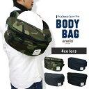 ボディバッグ メンズ ワンショルダー 大容量 ボディバッグ かばん 鞄 バッグ 迷彩 カモフラージュ 黒 ブラック ネイビ…