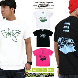 CONFUSE Tシャツ メンズ 半袖 ティーシャツ コンフューズ ロゴ プリント 大きいサイズ ワーク ブランド 人気 アメカジ ストリート おしゃれ かっこいい /3045/ cf-rem-ss-11-02