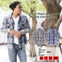 チェックシャツ メンズ 長袖 シャツ リアルコンテンツ REALCONTENTS 男女兼用 ウォッシュ加工 アメカジ ストリート系 ファッション M L XL XXL