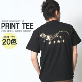 Tシャツ メンズ 半袖 大きいサイズ かっこいい おしゃれ 夏服 夏 ブランド アメカジ ワーク ストリート サーフ 黒 白 金 銀 ゴールド シルバー M L XL XXL 2L 3L メンズファッション プリント ロゴ バックプリント カットソー コラボ 限定Tシャツ