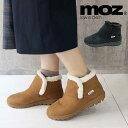 MOZ モズ 超軽量 ムートン調 フェイクファー ショートブーツ 外履き用 北欧 スエーデン 雪柄ソール 靴 レディース靴 …