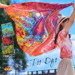麗しの彩色に釘付け。タイダイ染めマルチレーヨンサロン|アジアンファッション|エスニックファッション|サルエルパンツ|アジアン雑貨|レディース|メンズ|大きいサイズ|ワンピース|ピアス|レギンス|バッグ|スカート|サンダル|夏|マーライ|