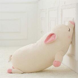 ぶた 子豚 ブタ ぬいぐるみ PIG 抱き枕 特大 プレゼント 御祝い お誕生日プレゼント 手触りふわふわ 動物 抱き枕 女性 母の日 クリスマス 彼女 ギフト 贈り物 女の子 店飾り おもちゃ 75cm 中国発送