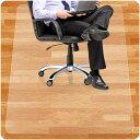 チェアマット 90*120cm/100*120cm 厚さ1.5mm 机下 椅子 床を保護 デスクマット 透明マット PVC 傷防止 滑り止め フロ…