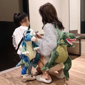 送料無料 恐竜 ガオー ぬいぐるみリュック リュックサック バッグ 遊園地 きょうりゅう アニマル 動物 ぬいぐるみ 着ぐるみ コスプレ キッズ 子供 楽天海外通販