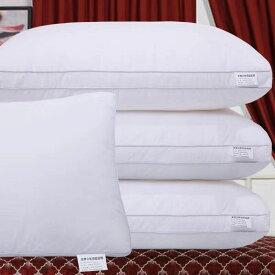 送料無料 枕 まくら 安眠 通気性 ホテル仕様 高反発枕 横向き 丸洗い可能 立体構造43x74cm 家族のプレゼント ホワイト 高さ15cm/18cm/20cm 楽天海外直送