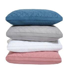 送料無料 [2個]枕 まくら 安眠 通気性 ホテル仕様 高反発枕 横向き 丸洗い可能 立体構造43x74cm 家族のプレゼント ホワイト ピンク ブルー グレー 楽天海外直送