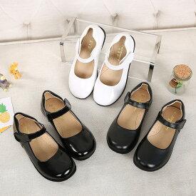 送料無料 フォーマルシューズ 女の子靴 子供 履きやすい 女の子 靴 キッズ ピアノ 入園式 卒業式 卒園式 結婚式 入学式 ブラック ホワイト 楽天海外直送