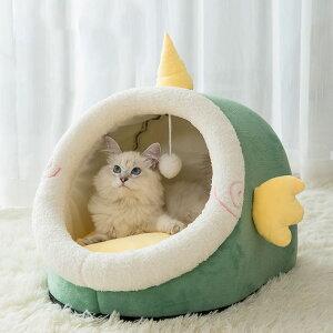 送料無料 ペットベッド 全3サイズ ユニコーン いっかくじゅう 一角獣 ボール付き モチーフペットベッド 犬猫兼用 ペットソファ キャットハウス ペットクッション 猫用ベッド 犬用品 おしゃ