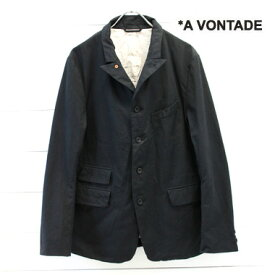 A VONTADE (アボンタージ) オールドポッター ジャケット Old Potter Jacket - Highcount Oxford -VTD-0255-JK-C メンズ ジャケット テーラード avontade ビジネスカジュアル 日本製 正規取扱店