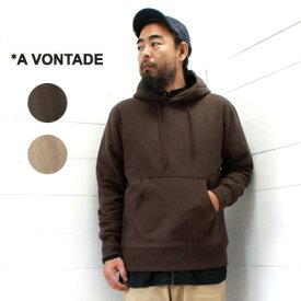 A VONTADE (アボンタージ) フード パーカー Hooded ParkaVTD-0521-CS メンズ トップス スウェット パーカー 裏起毛 2019aw 日本製 正規取扱店