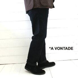 A VONTADE (アボンタージ) コットンスウェード イージー トラウザー Cotton Suede Easy TrousersVTD-0395-PT