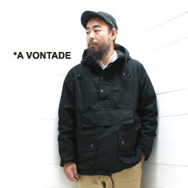A VONTADE (アボンタージ) ブリティッシュ アノラックパーカー British Anolak ParkaVTD-0365-JK ジャケット 日本製 正規取扱店