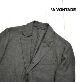 A VONTADE (ア ボンタージ) コンフォート 3釦 ジャケット Comfort 3B JacketVTD-0431-JK avontade アウター ジャケット メンズ テーラードジャケット ビジネスカジュアル 日本製 送料無料