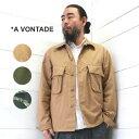A VONTADE (アボンタージ) コンバットトロピカル ショート ジャケット Combat Tropical Short JacketVTD-0409-JK メンズ シャツ アウター ジャケット 2020ss 日本製 正規取扱店