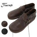 FRACAP (フラカップ) レザー スリッポン シューズ Italian Vegetable tanned Leather SandaloR005 / レザースリッポン メンズ / レザー…