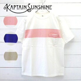 KAPTAIN SUNSHINE(キャプテンサンシャイン) ウエストコースト 半袖tシャツ West Coast Tee KS9SCS12 scs