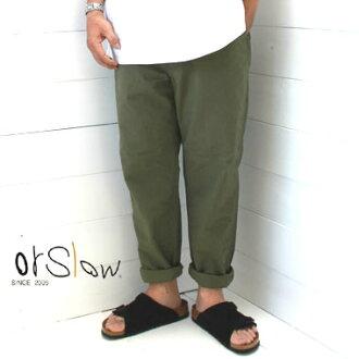 昂斯洛 /orslow 紐約褲子男女皆宜的紐約克軍短褲 10P01Oct16