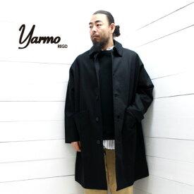 yarmo (ヤーモ) ダスター コート DUSTER COAT CC41YAR-18AW18 メンズ レディース アウター コート ワークコート ドロップショルダー イギリス製 正規取扱店